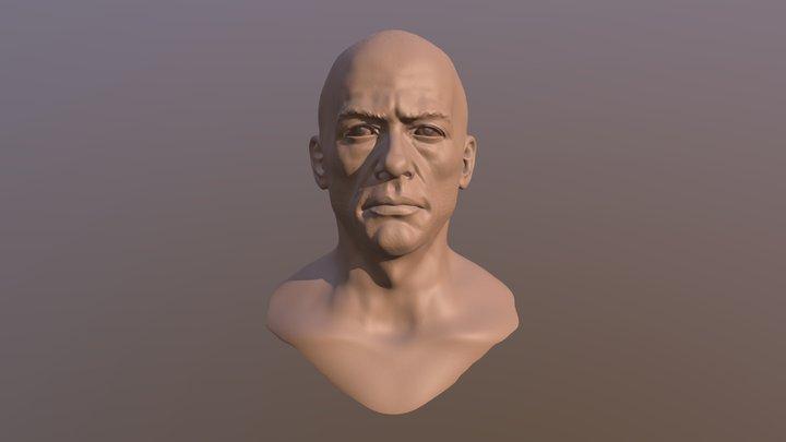 Old JCVD 3D Model