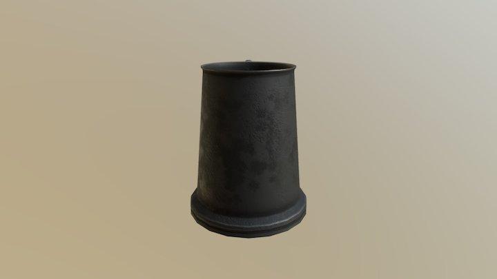 Pewter Mug 3D Model