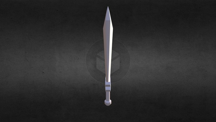 LP Sword Model 3D Model