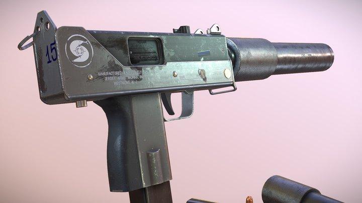 Ingram Mac10 9mm 3D Model