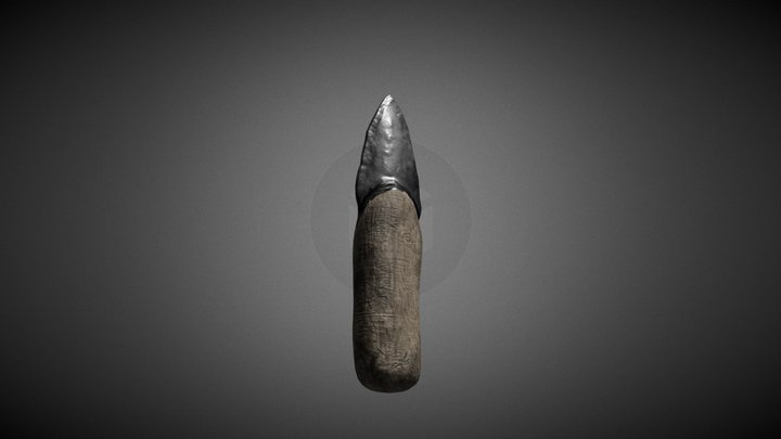 stoneage knife 3D Model