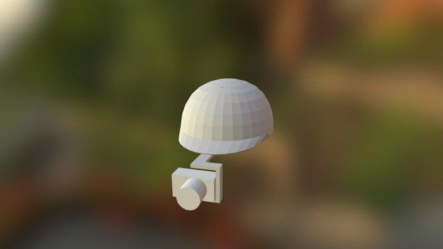 Šalmas 3D Model