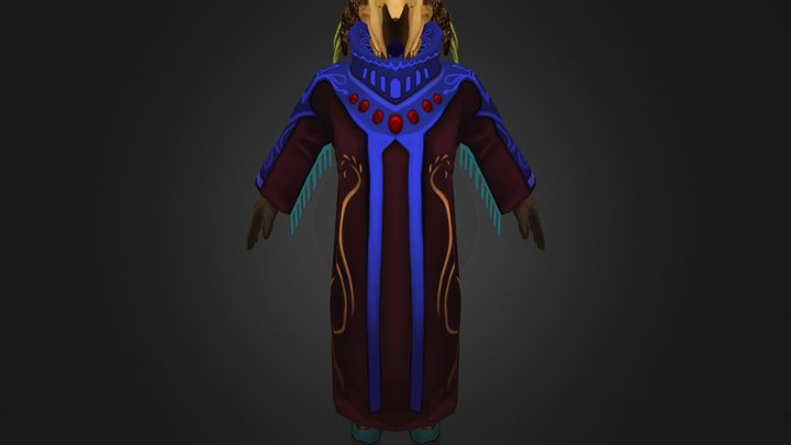 Male Duo Character 3D Model