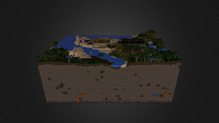 Map SUrvie.obj 3D Model