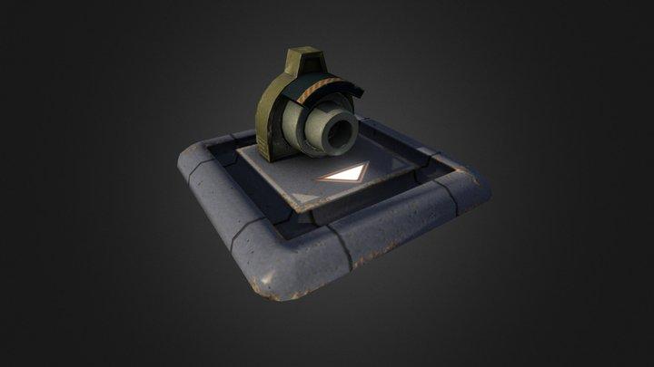 Minicanon 3D Model