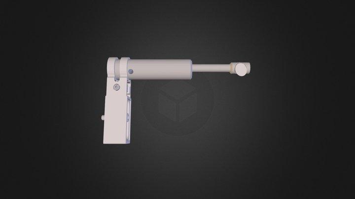 Input Fold Assembly 3D Model