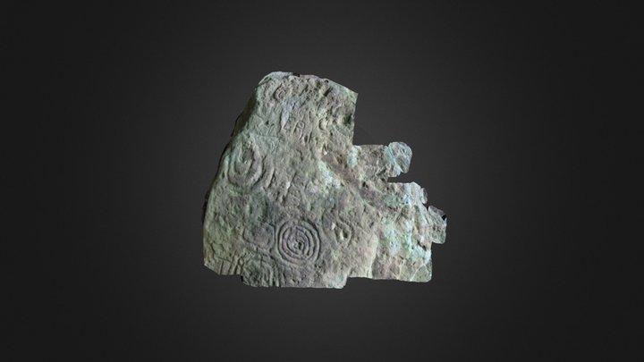 Loughcrew Cairn T R2 3D Model