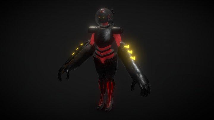 Power Armor 3D Model