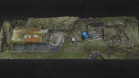 Norðri í Gerði, Koltur, Faroe Islands 3D Model