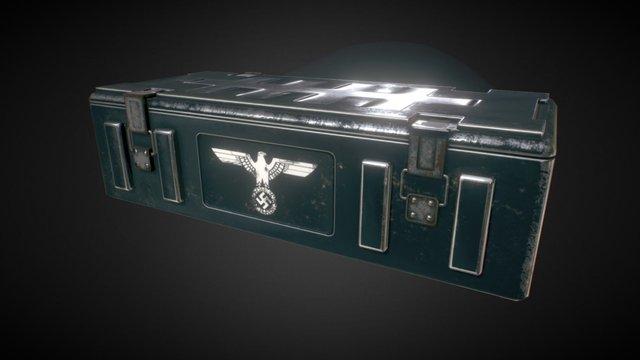 Nazi ammo boxes 3D Model