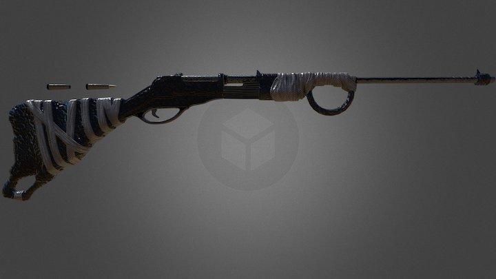 Graphite Rifle [STEAM WORKSHOP] 3D Model