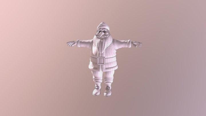 Santa 3D Model