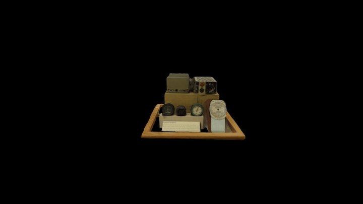 Airplane Equipment 3D Model