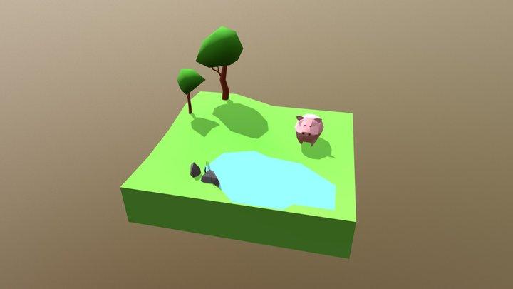 pig/// 3D Model