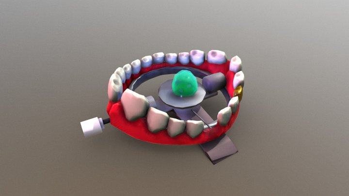 Mouth Trap 3D Model