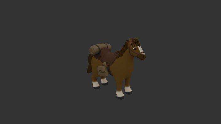 Little Horse 3D Model