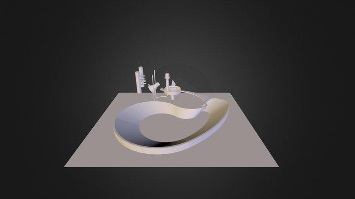 Hos 2 3D Model