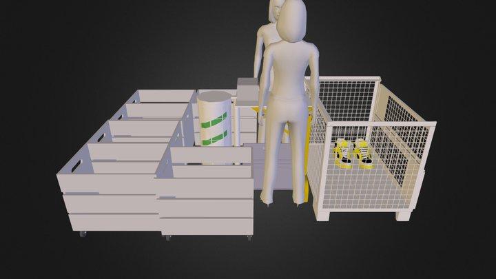 traitement chaussures.dae 3D Model