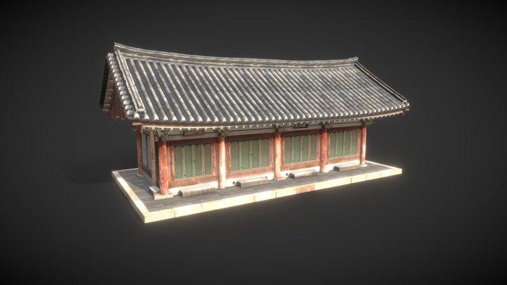 Korea National Treasure_056_순천 송광사 국사전 3D Model