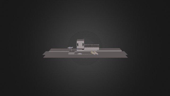 Oddo Scene 3D Model