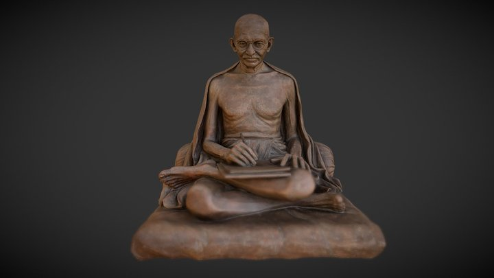 Gandhi #1 by WAGH studio Bombay 3D Model