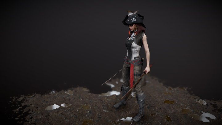 Furry S3: The Pirates 3D Model