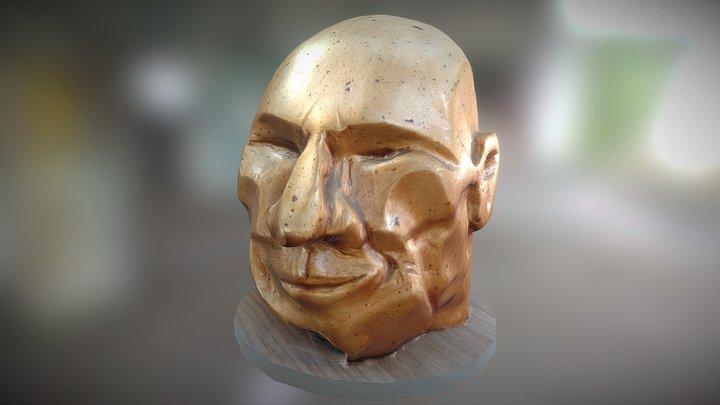 X-men Dr. Xavier Head 3D Model