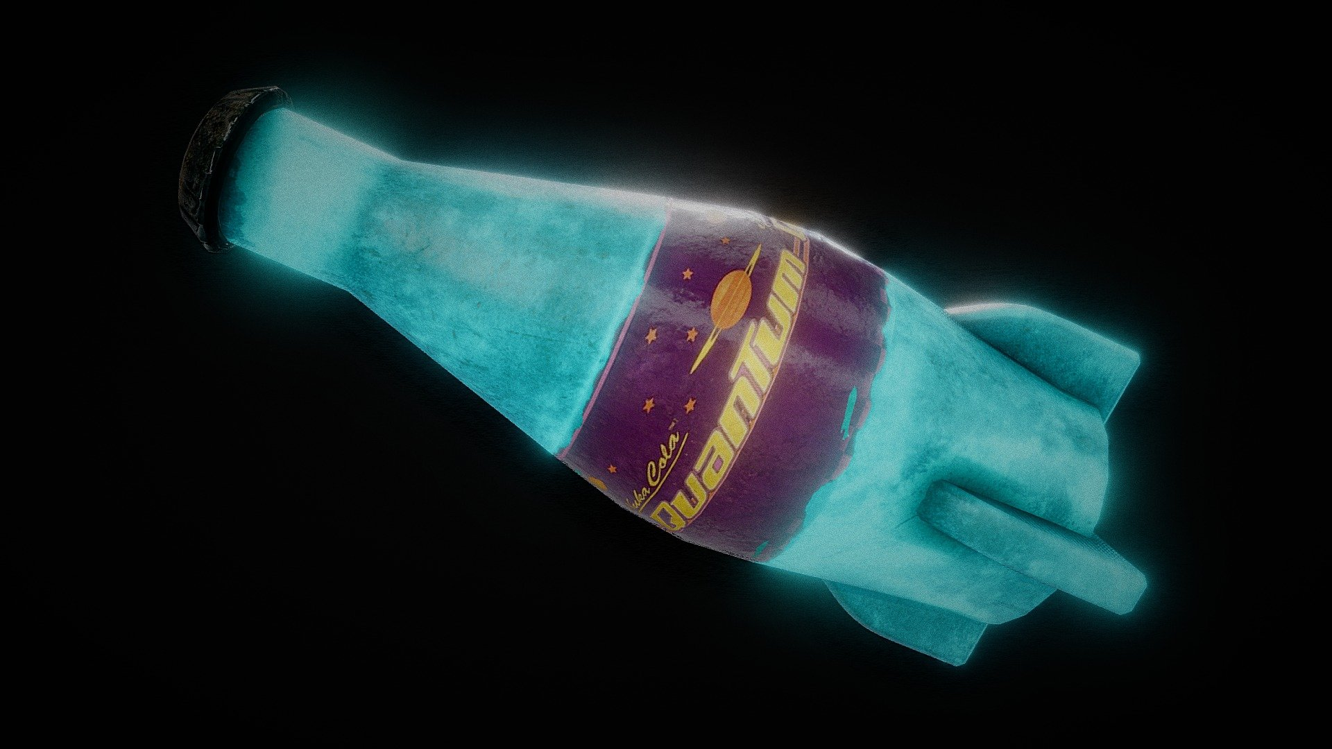 Fallout 4 Nuka Cola Quantum 3d Model By Michael Harris