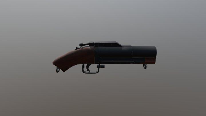 SK M79 Sawed Off 3D Model