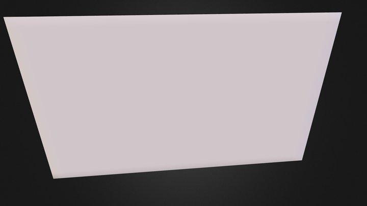 Club Card End 3D Model