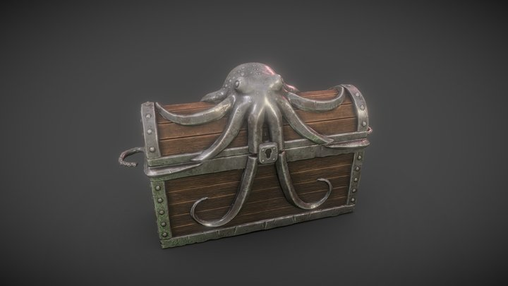 Chest of the depths 3D Model