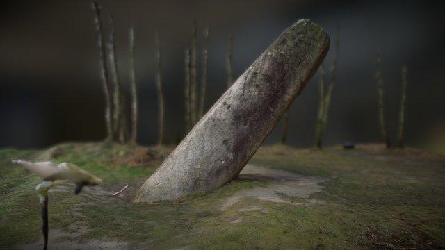 Menhir de la Tremblais 3D Model