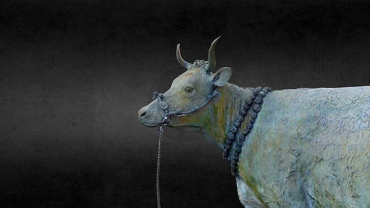 """Turra Coo (Doric for """"the Turriff Cow"""") 3D Model"""