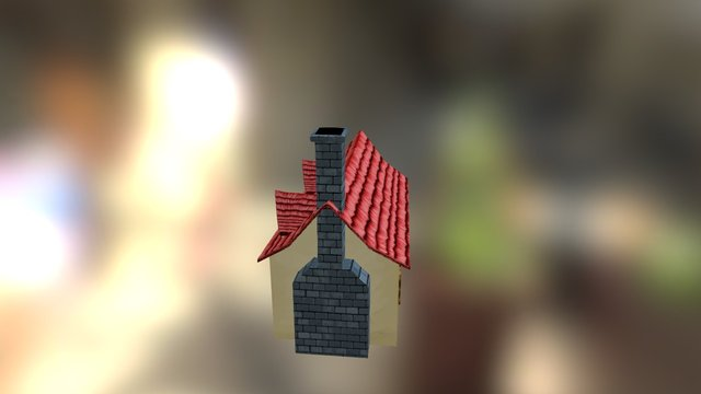 fantasy asset: house 3D Model