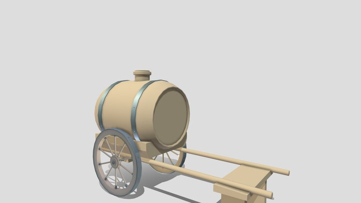 Water Tank Detail WIP for XYZ 3D Model