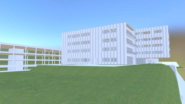 BIMblog Bâtiment administratif 3D Model