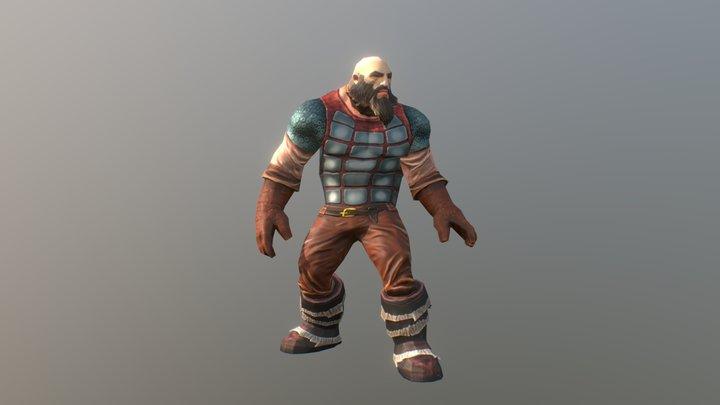 hero warrior (downloadable) 3D Model