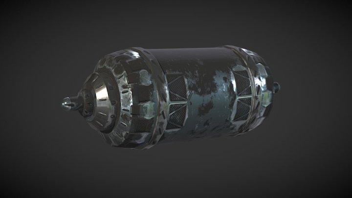 Sci Fi Engine 3D Model