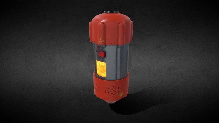Apex Legends - Thermite Grenade 3D Model