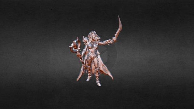 Darkelf 3D Model