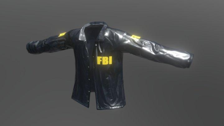 FBI Coat 3D Model