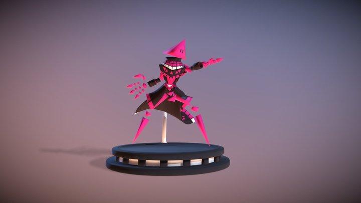 barracuda toy model 3D Model