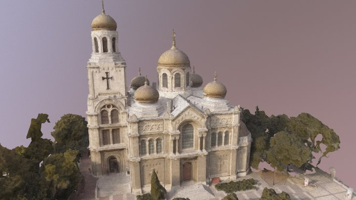 Varna Cathedral 3D Model