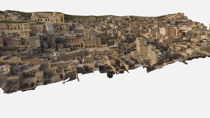 Mardin Old Town 3D Model