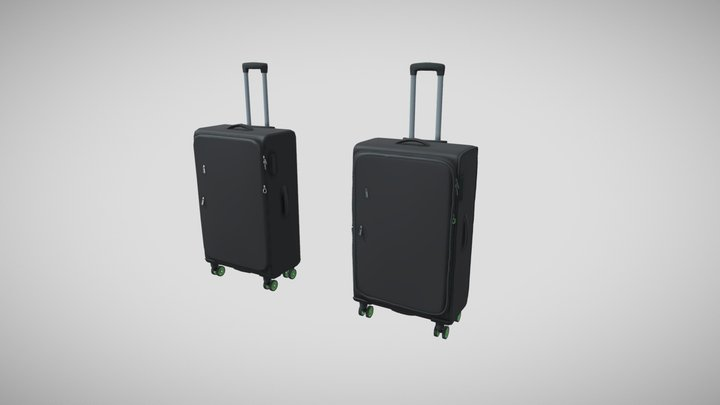Week 14 - Luggage Hp 3D Model