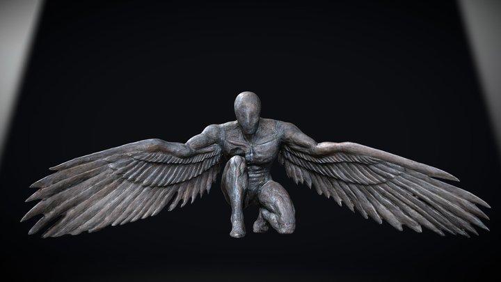 'Greer Guardian Angel' by Ed Elliott 3D Model