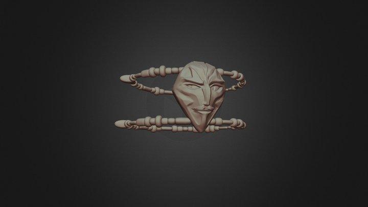Speed sculpt - Kennit's amulet 3D Model