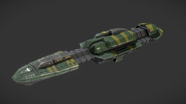 League Dreadnought 3D Model