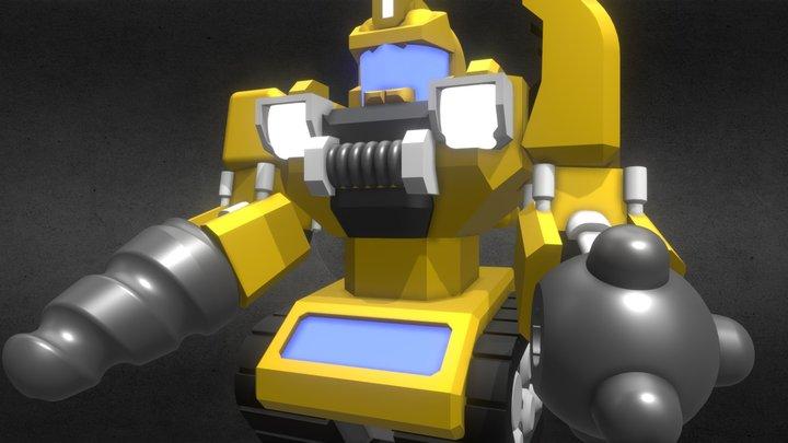 BattleRoller: D0Z-3R 3D Model