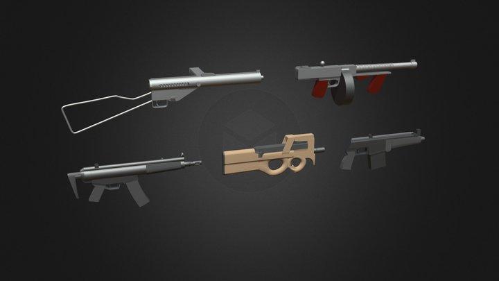 Gun practice 3D Model